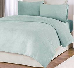 Cozy Velvet Touch King Sheet Set 6 Pieces with 4 Pillowcases