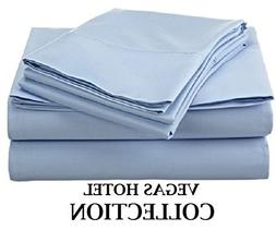 VEGAS HOTEL COLLECTION Crispy Egyptian Cotton Sheets, 400-Th