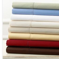 """Charter Club Damask Solid 500 Thread Count King Sheet Set """"N"""