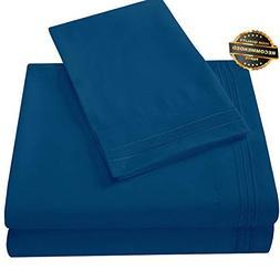 Gatton Premium New Deep Pocket Bed Sheet Set Fitted Flat Pil
