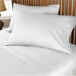 Deep Pocket Bedding Items 1000 Count New Egyptian Cotton Whi