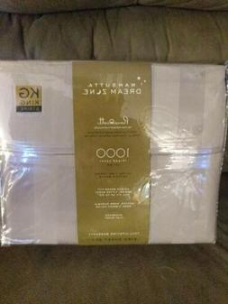 Wamsutta Dream Zone 1000-Thread Count PimaCott King Sheet Se