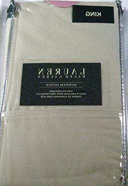 Ralph Lauren Dunham 300 Thread Count King Size Pillowcases O