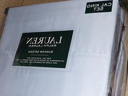 Lauren Ralph Lauren Dunham Azure Light Blue Sheet Set CAL Ki