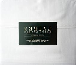 Lauren Ralph Lauren King Size Dunham Sateen 4 Piece Sheet Se