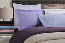 Duvet Cover Set With Pillow Shams, Embroidered REGAL Design,