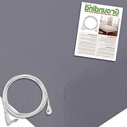 Grounding Brand Earthing Sheet Fitted King Size with Connect