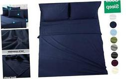 EASELAND 6-Pieces King Size Bed Sheets Set 1800 Series Micro