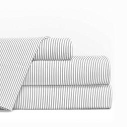 Egyptian Luxury 1600 Series Hotel Collection Pinstripe Patte