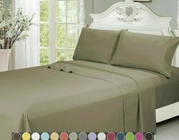Egyptian Luxurious Comfort 2000 Series 4 Piece Bed Sheet Set
