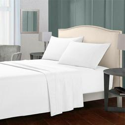 Egyptian Comfort Soft 1800 Count 4 Piece Bed Sheet Set Deep