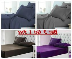 Egyptian Comfort 1900 Series Bed Sheet Set Full,Queen, King