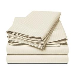 100% Egyptian Cotton 1000 Thread Count Oversized King Sheet