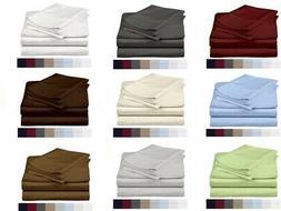 Egyptian Cotton 600 Thread-Count 4 Piece Sheet Set Beautiful