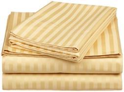 100% Egyptian Cotton 650 Thread Count King 4-Piece Sheet Set