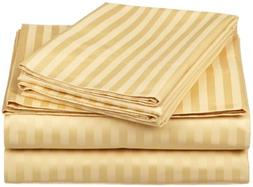 100% Egyptian Cotton 650 Thread Count Twin XL 3-Piece Sheet