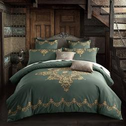 Egyptian Cotton Luxury <font><b>Royal</b></font> Bedding Set