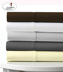 "TRIBECA LIVING Egyptian Cotton Sateen 600 Thread Count 25"" D"
