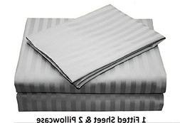 ARlinen 100% Egyptian Cotton 3-Piece  Only Sateen 800-Thread
