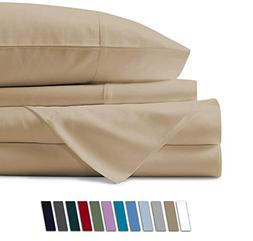 Mayfair Linen 100% Egyptian Cotton Sheets, Sand King Sheets