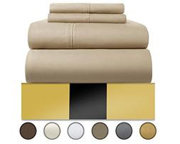 Urban Hut Egyptian Cotton Sheets Set  800 Thread Count - Bed