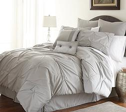 Amrapur Overseas Ella 8-piece Embellished Comforter Set King
