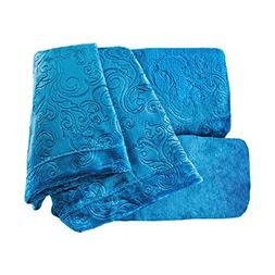 embossed damask super soft sheet