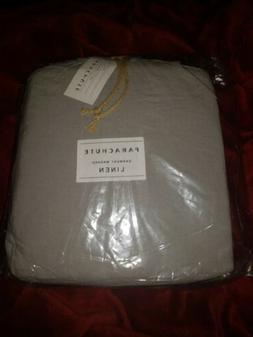 Parachute Fitted Sheet King Medium Gray New with Tags