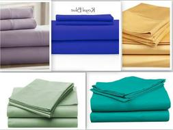 Persian Collection Flat Sheet 1800 Count Wrinkle Free Soft S