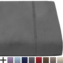 Flat Top Sheet Premium 1800 Ultra-Soft Microfiber Collection