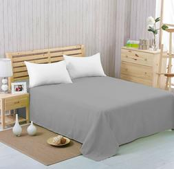 flat sheet extra soft breathable and comfortable