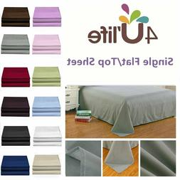 Flat Sheets-Hotel Quality,1800 Series Brushed Microfiber,Ult