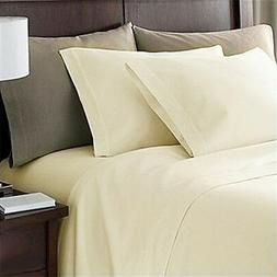 Free Delivery Ivory Solid Rich Class Fabric Sheet Set  Selec
