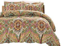 California Design Den Gale-CS Comforter Sets, King, Lime