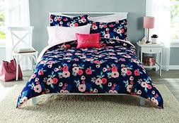Garden Floral 8pc Bed in a Bag, Full Size