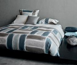 Signoria Firenze Gouache King Duvet Cover - Blue