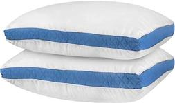 Utopia Bedding Gusseted Quilted Pillow King 18 x 36 Inches -