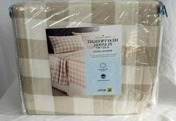 Home Classics HEAVY WEIGHT 100% Cotton FLANNEL Sheet Set Buf