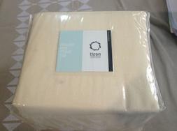 Heavyweight 100% Cotton Flannel Sheet Set, King - Chamois Cr