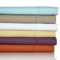 Concierge Collection Hemstitch King Easy Care Sheet Set - Gr