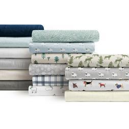 Brielle Home® 100% Cotton Flannel Sheet Set