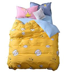 Mumgo Home Textile Bedding Sets for Adult Kids Keeping Smile