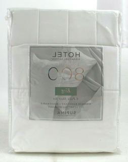 Hotel 100% Cotton 800 Thread Count 6 Piece King Sheet Set Br
