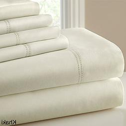CHT Hotel Collection 1000 Thread Count 6-Piece Sheet Set wit