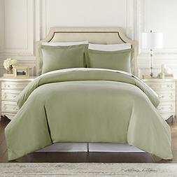 Hotel Luxury 3pc Duvet Cover Set-1500 Thread Count Egyptian