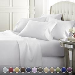 Danjor Linens 6 Piece Hotel Luxury Soft 1800 Series Premium