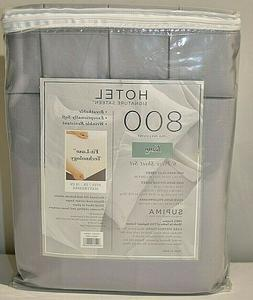 Hotel Signature Sateen Collection 800 Thread Count 100% Cott