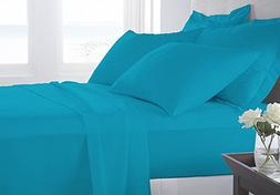 VGI Linen Solid Pattern Hotel Series 100% Egyptian Cotton Qu