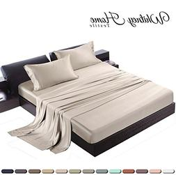 Hotel Quality Silky Soft 100% Bamboo-Derived Rayon Bed Sheet
