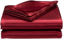 Cloud Fino Hotel Quality Silky Soft Luxurious Satin 4 Pc She